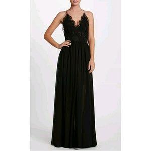 Dress the Populatoin Chloe Chiffon Gown Dress